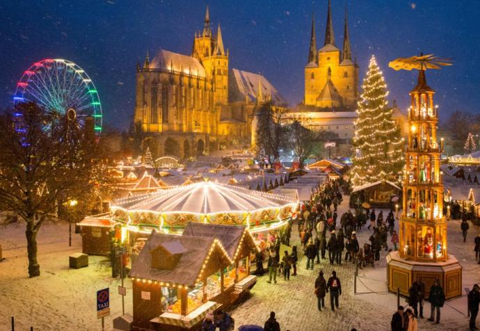 クリスマスマーケット【ドイツ】エアフルト2