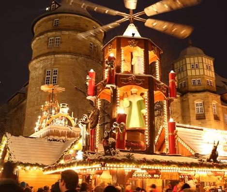 クリスマスマーケット【ドイツ】シュトゥットガルト シーラープラッツ
