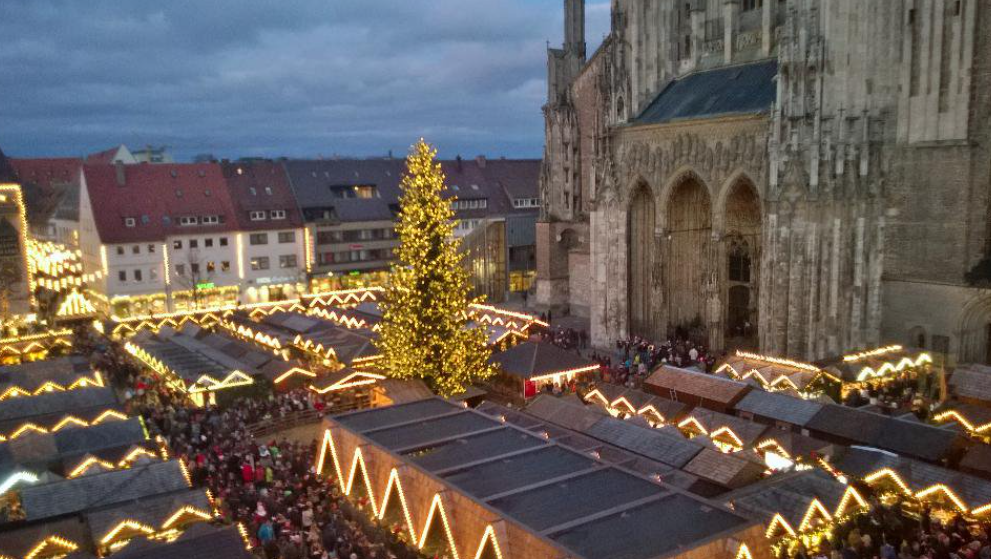 クリスマスマーケット【ドイツ】ウルム