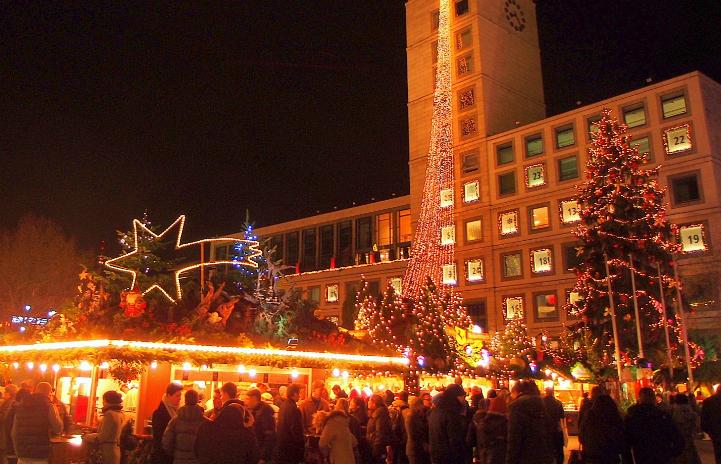 クリスマスマーケット ドイツ シュトゥットガルト