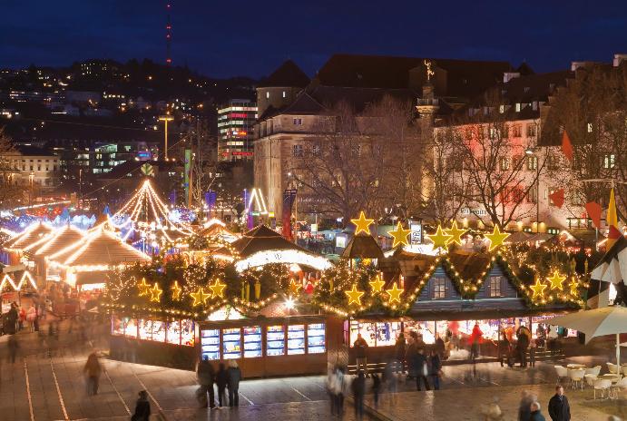 クリスマスマーケット ドイツ シュトゥットガルト2