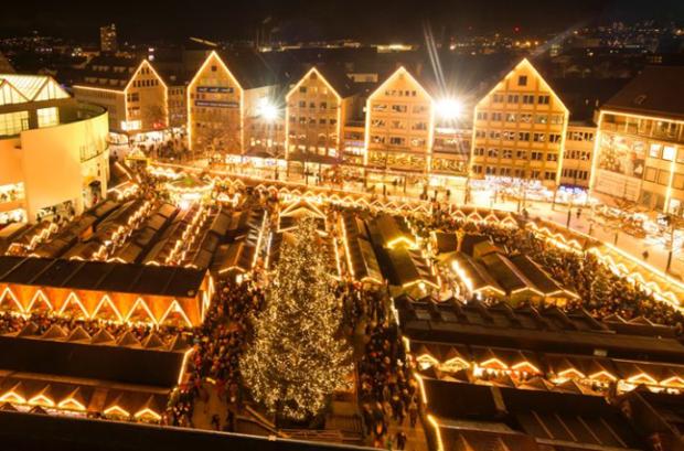 クリスマスマーケット【ドイツ】ウルム1